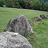 Gerda, Switzerland - Old Stone Barrier