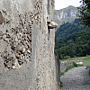 Gerda, Switzerland - Village Path + Retaining Wall