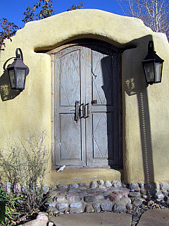 Santa Fe - Adobe Door