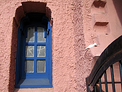 Santa Fe - Blue Window