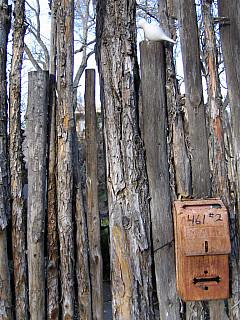 Santa Fe - Log Fence Box