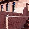 Santa Fe - Pink Stairs