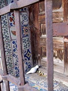 Santa Fe - Tile Grate Door