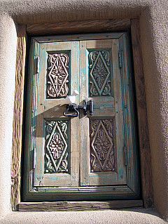 Santa Fe - Window Door
