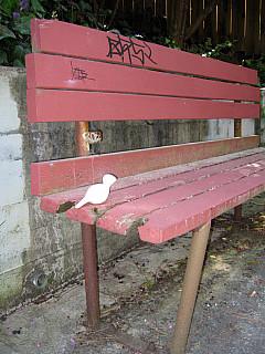 San Francisco - Red Bench
