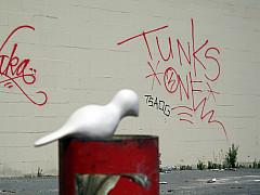 San Francisco - Red Graffiti