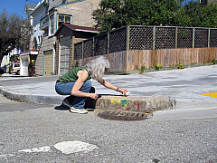 San Francisco - Sandy Curb