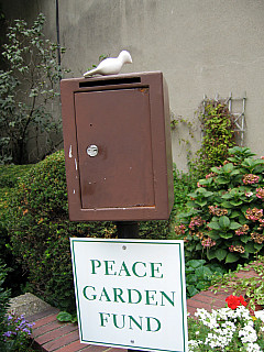 Boston - Peace Garden