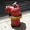 Chicago - Red Hydrant
