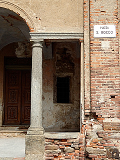Italy, Biella - Piazza