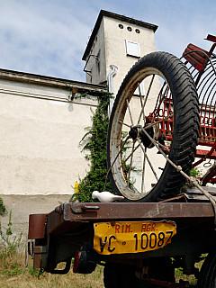 Italy, Biella - Tractor