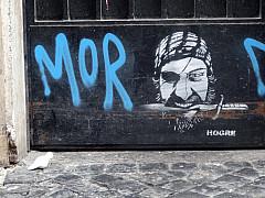 Italy, Rome - Graffiti