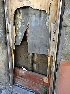 Italy, Rome -Wretched Door