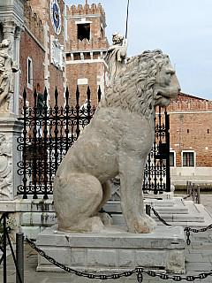 Italy, Venice - Lion