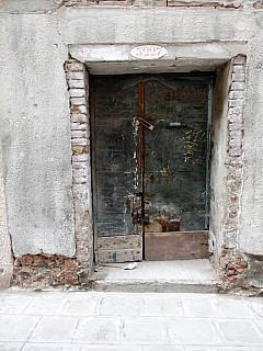 Italy, Venice - Old Door
