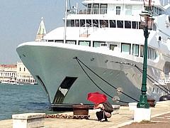 Italy, Venice - Sandy Dove Boat