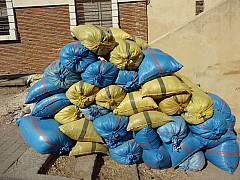 Morocco - Yellow Blue Pile 1
