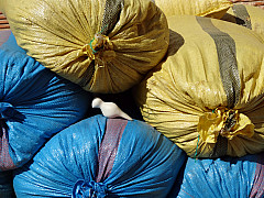 Morocco - Yellow Blue Pile 2