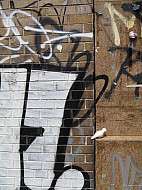 New York - Brown Graffiti
