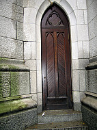 New York - Church Back Door