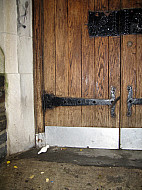 New York - Church Door