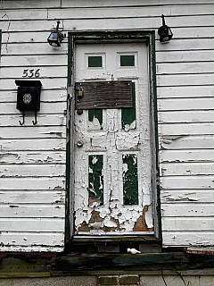 Savannah, Georgia - Peeling Door
