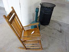 Savannah, Georgia - Rocking Chair