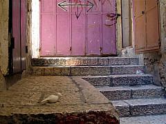 Israel - Jerusalem Pink Door