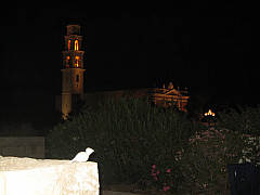Israel - Night Steeple