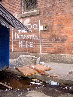 Rhode Island - Dumpster