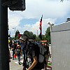 DNC - Masked Protester