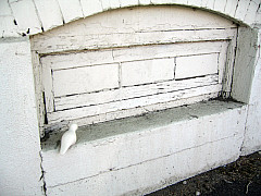 DNC - White Painted Window
