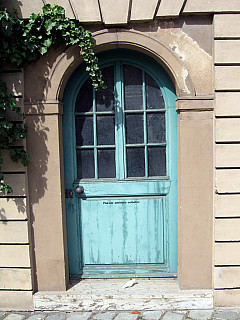Germany - Teal Doorway