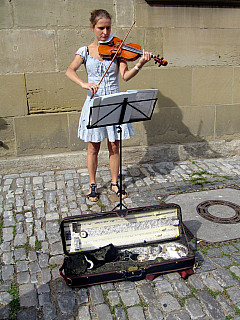 Germany - Violin Girl