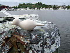 Baltimore - Harbor Tin Post