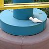 Minneapolis - Blue Circle Pole