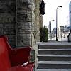 Minneapolis - Red Church Bench