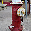 Minneapolis - Red Fire Hydrant