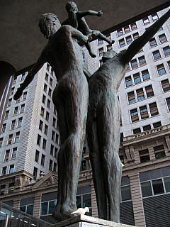 Minneapolis - Sculpture Family
