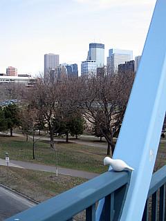Minneapolis - Walkway Skyline
