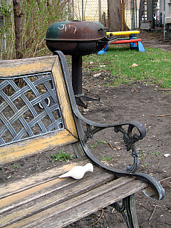 Minneapolis - Yard Bench