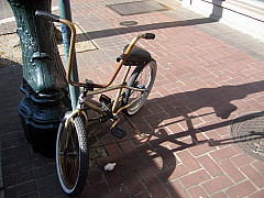 New Orleans - Bike Shadow