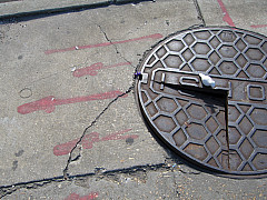 New Orleans - Man Hole