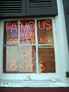 New Orleans - Po Boys