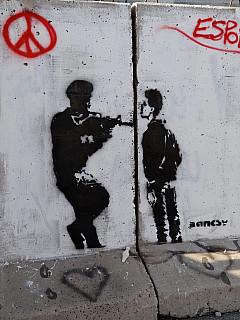 Palestine - Bansky