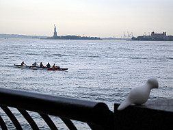 New York - harbor Statue