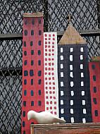 New York - Wood City