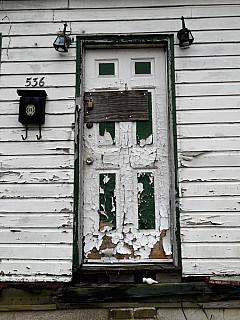 Savannah, Georgia - Peeling Door