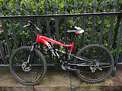 Savannah, Georgia - Red Bike