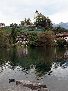 Gerda, Switzerland - Lake and Village